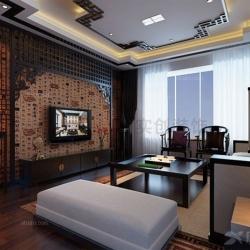 中海紫御公馆141平米简约中式新家
