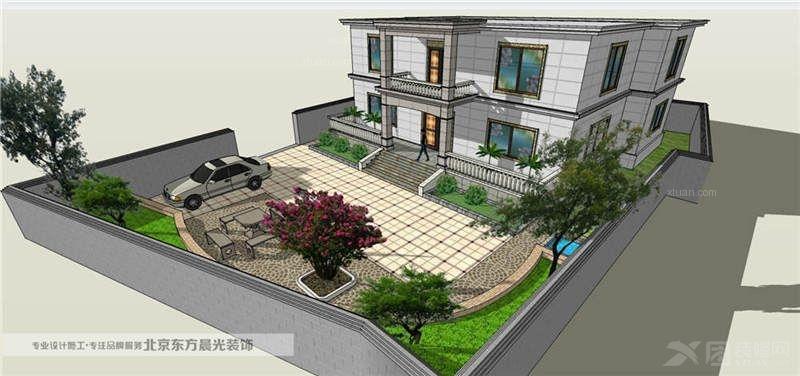中国院子设计装修效果图