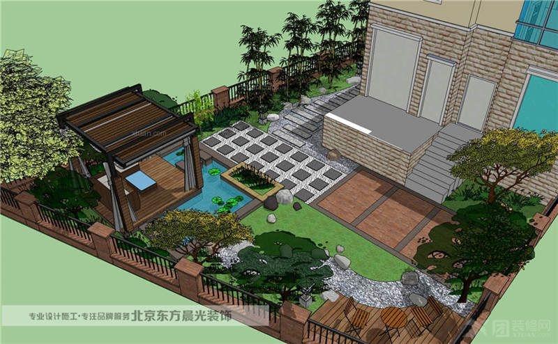 中国院子设计图片