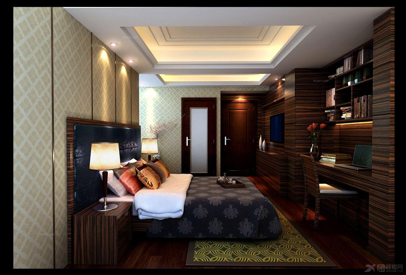 三居室卧室
