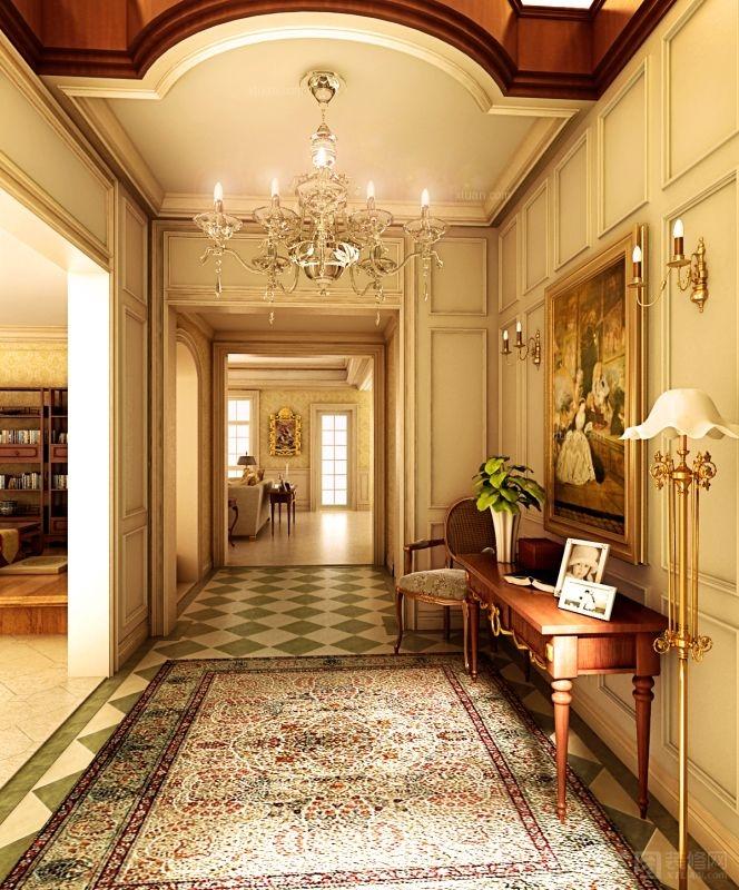 美式别墅纯设计