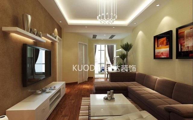 西山区滇池柏悦71平方米现代风格中户型4.6万元