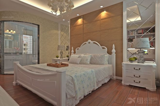 三室一厅混搭风格卧室