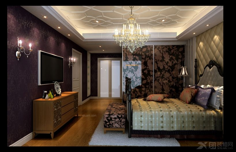 复式楼欧式风格卧室