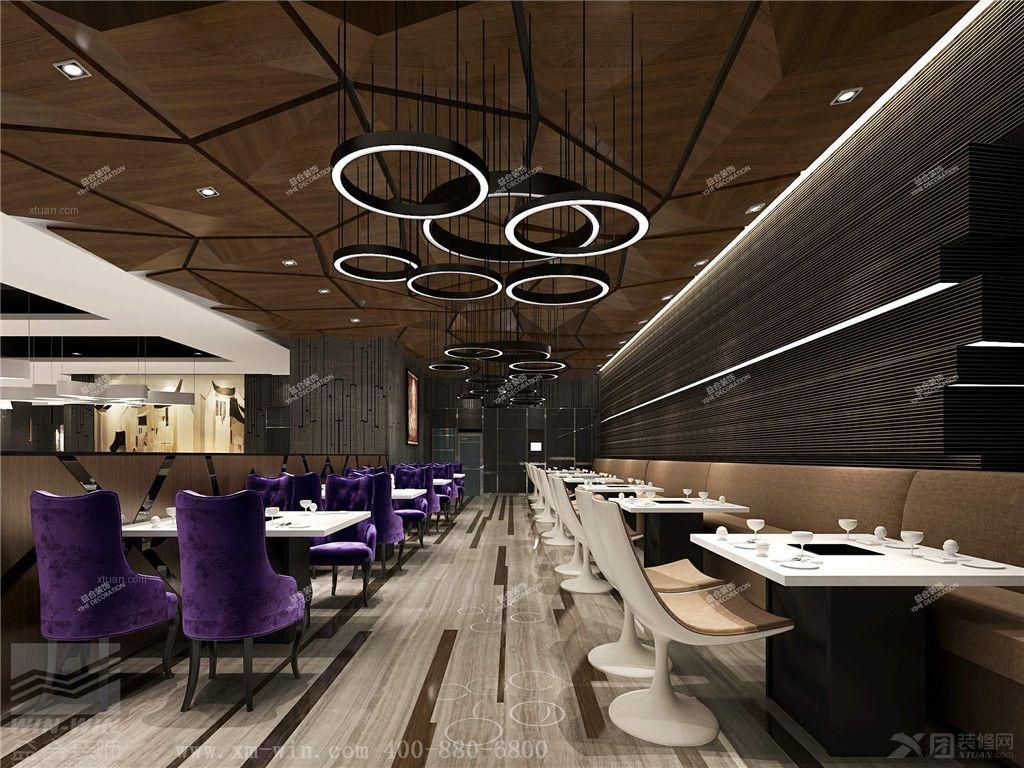 现代风格餐馆
