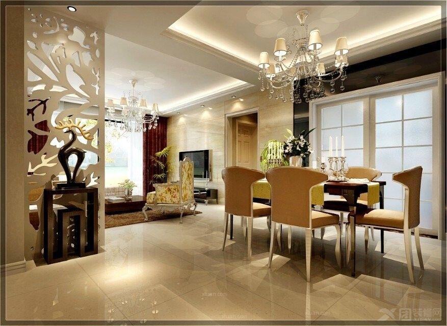 三居室简欧风格餐厅厨具