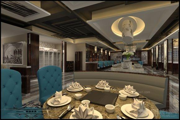 大户型中式风格餐厅