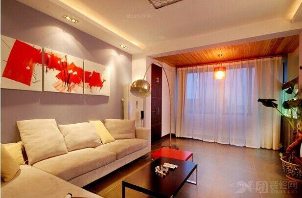 现代三房温暖设计