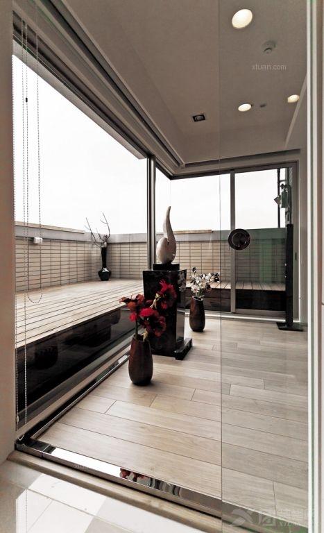 一居室现代简约阳台