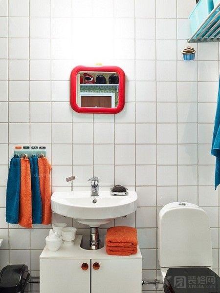 一居室现代风格洗手间