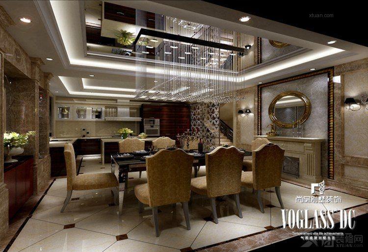 中海九号公馆欧式风格设计方案展示