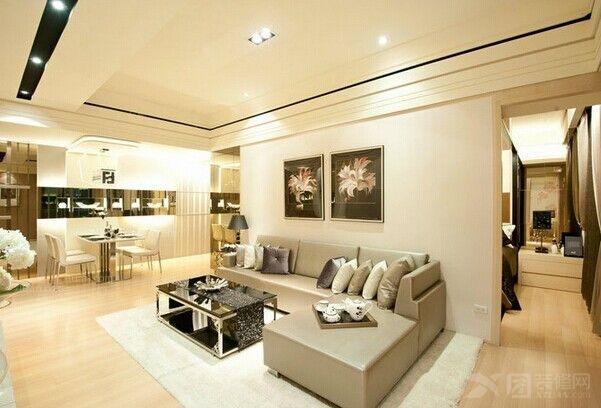 三居室欧式风格客厅