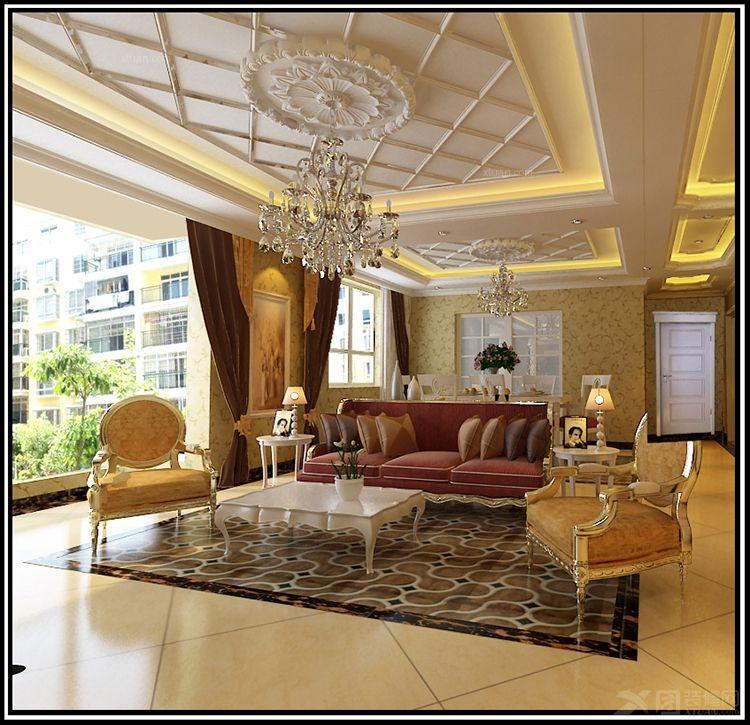 设计理念:裕丰英伦|简约欧式风格|客厅效果图通过完美的曲线,精益求精的细节处理,带给家人不尽的舒适触感,实际上和谐是欧式风格的最高境界。同时,欧式装饰发呢个个最适用于本套大面积房子,若空间太小,不但无法展现其风格势气。 隐藏更多