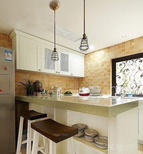 三居室美式风格厨房