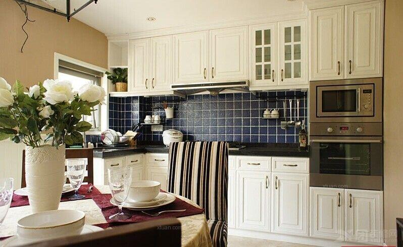 两室两厅简约风格厨房