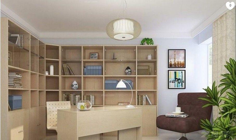 两室两厅简约风格书房