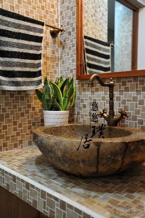 三室两厅古典风格洗手间