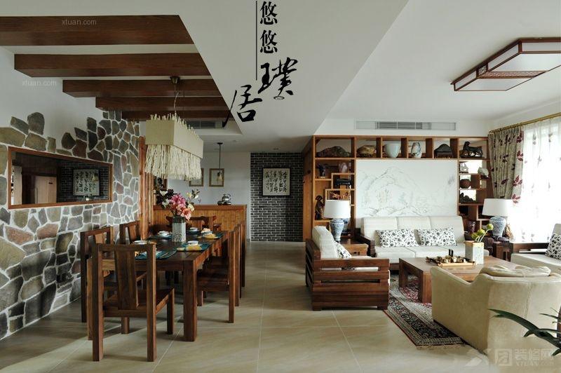 三室两厅古典风格餐厅