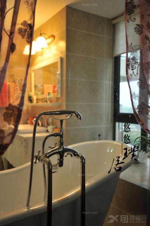三室两厅古典风格浴室