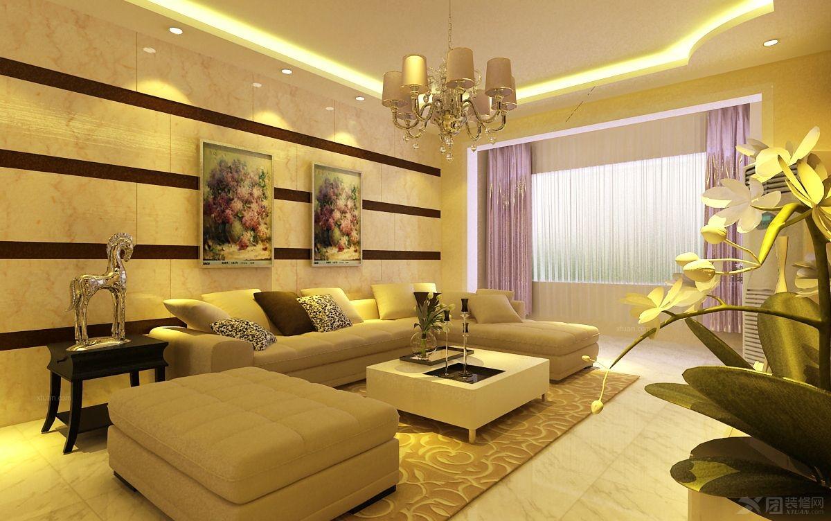 盛景家园140平米-现代简约时尚三居