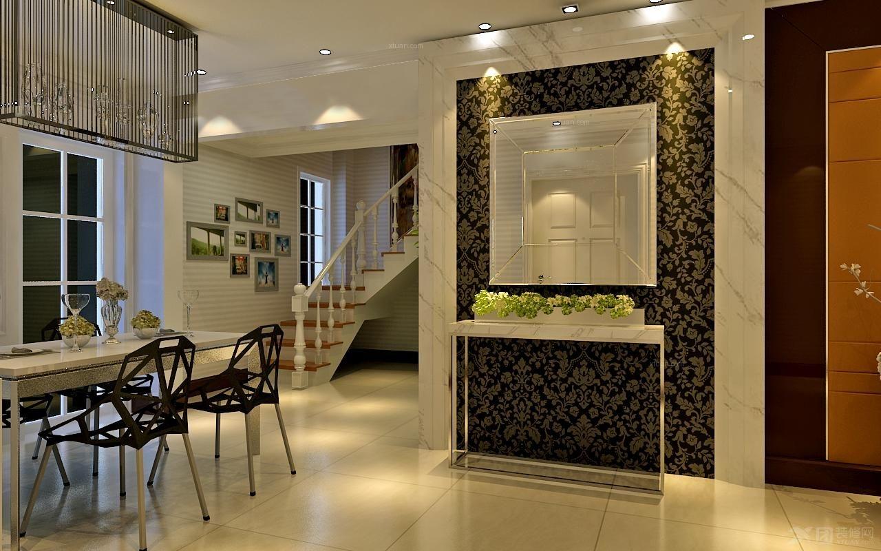 【实创装饰】现代简约260平复式,给你一个温馨健康的家