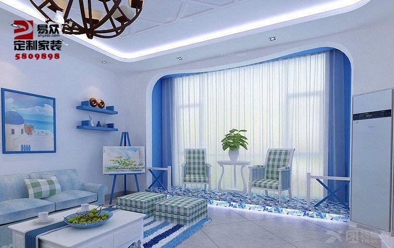 芜湖城市之光3室在线装修效果图