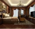 泰安道五大院314平米户型欧式古典装修