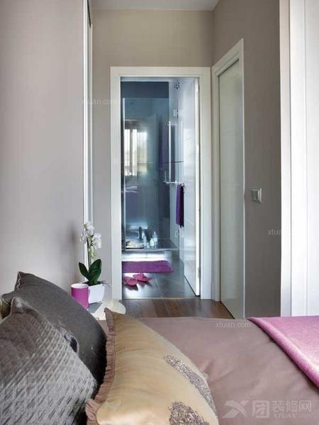 白领公寓现代简约卧室
