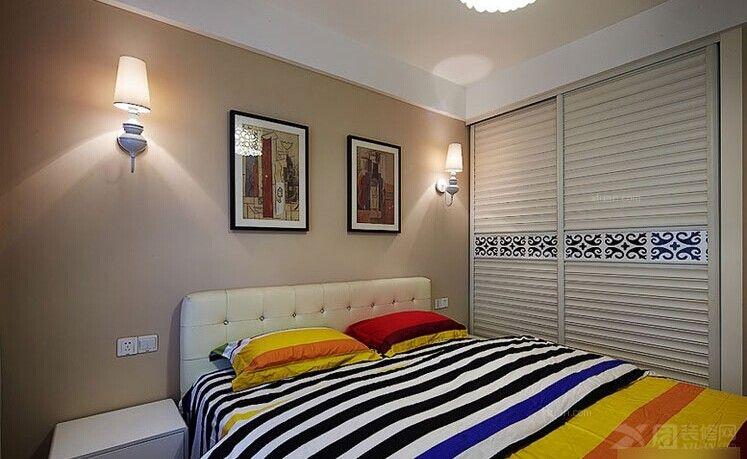 一居室现代简约卧室