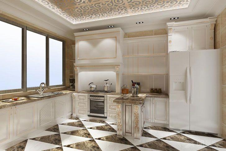 三室两厅欧式风格厨房