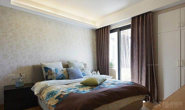 三室两厅现代简约卧室