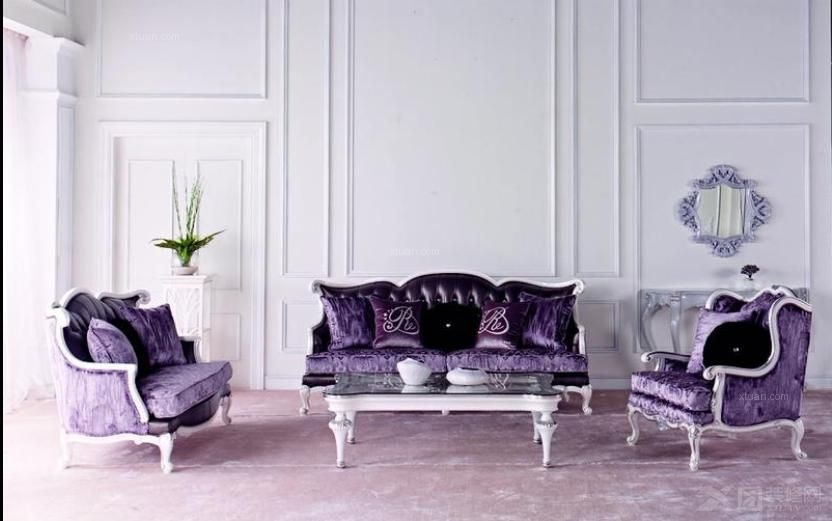 三居室法式风格交换空间
