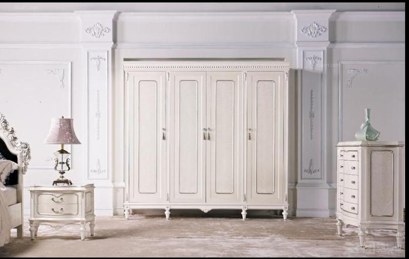 三居室法式风格卧室