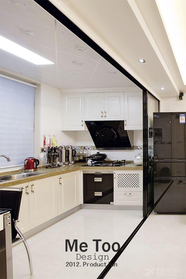 两室一厅混搭风格厨房