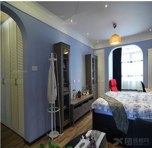两居室地中海风格卧室