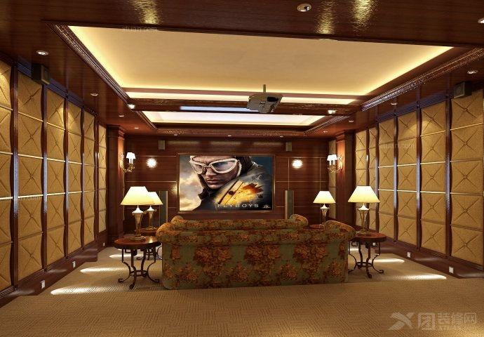 复式楼现代简约地下室软装