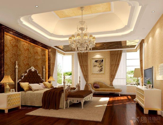 复式楼现代简约卧室软装