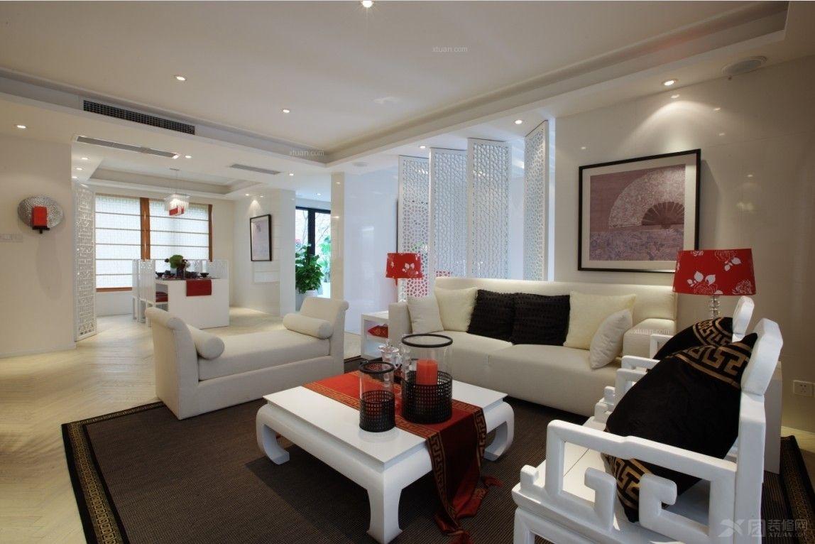 大户型现代风格客厅软装