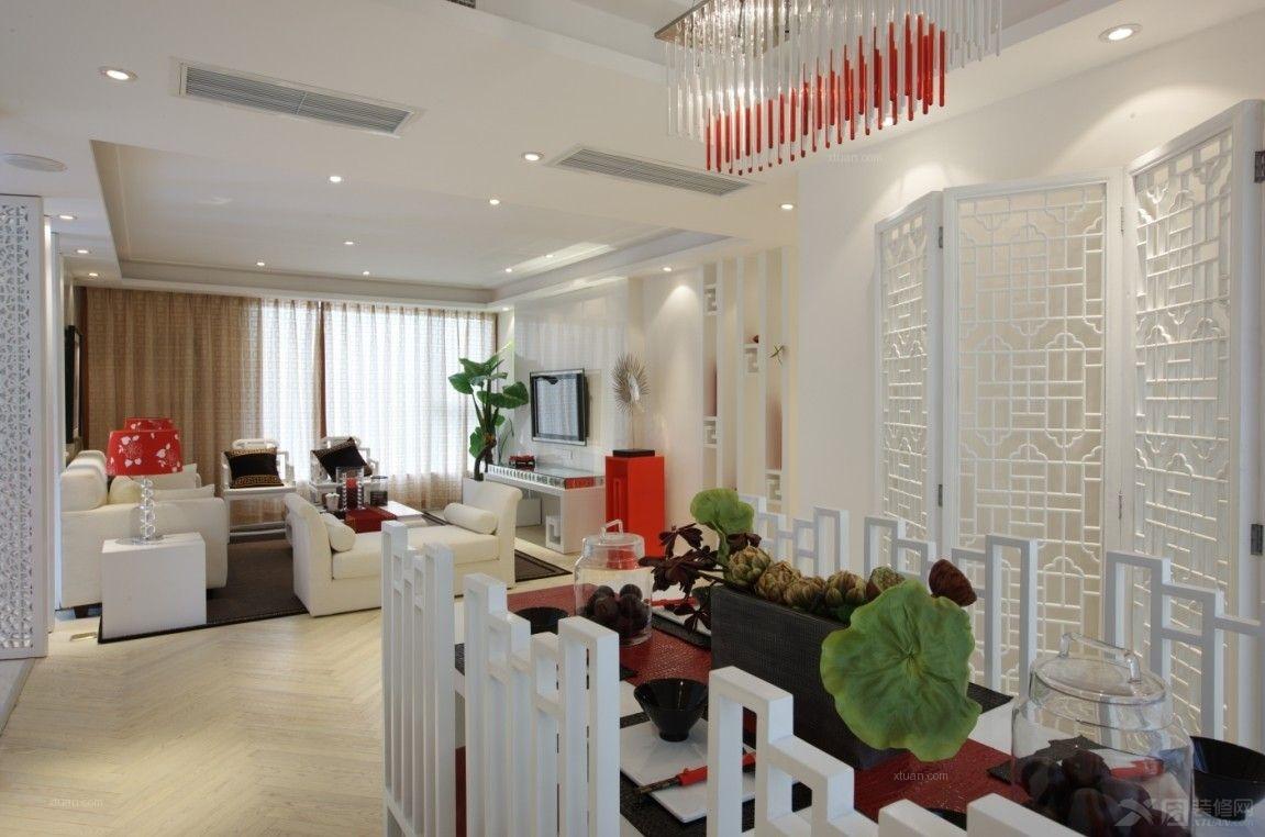 大户型现代风格餐厅照片墙