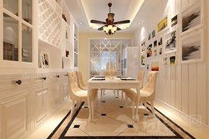 京能家园三居室简欧风格——呼市鼎盛创典装饰