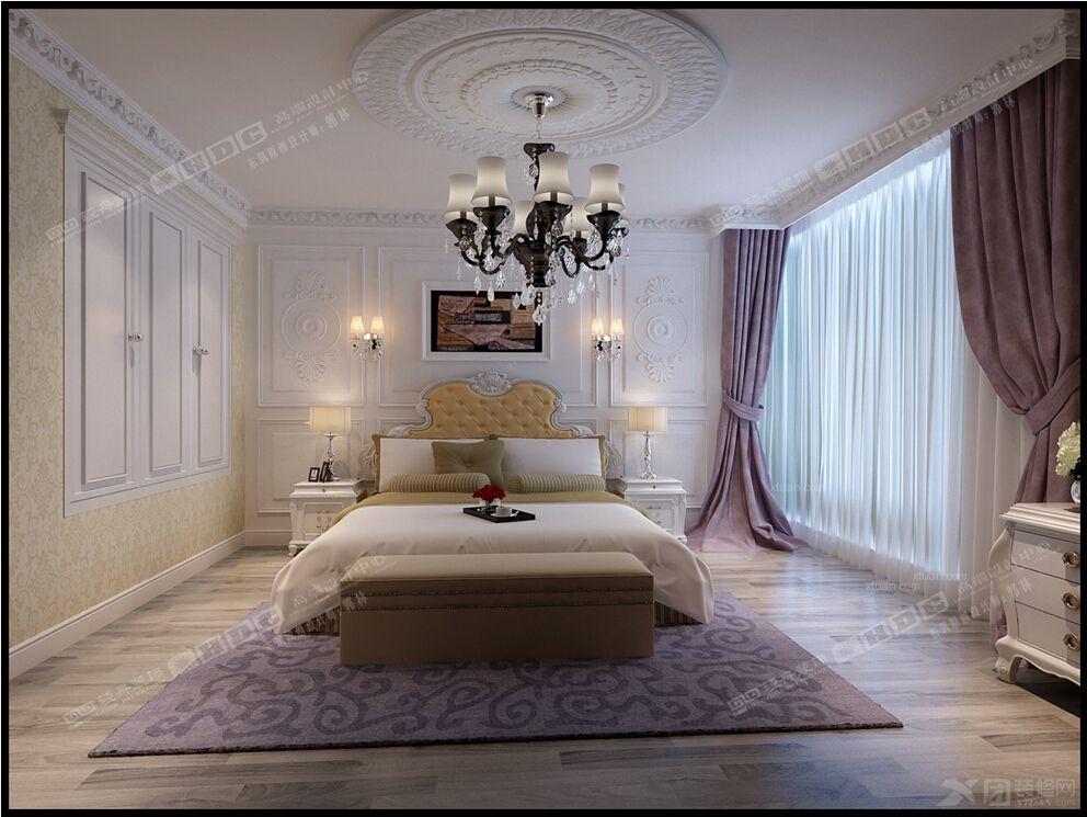 老房简欧风格卧室