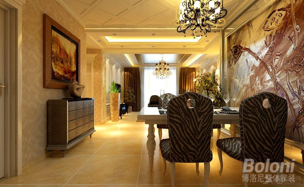 三居室现代简约客厅