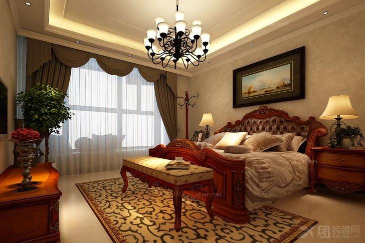 大户型美式风格客厅软装