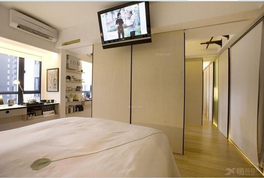 白领公寓现代风格卧室