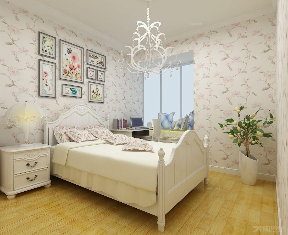 小户型田园风格卧室