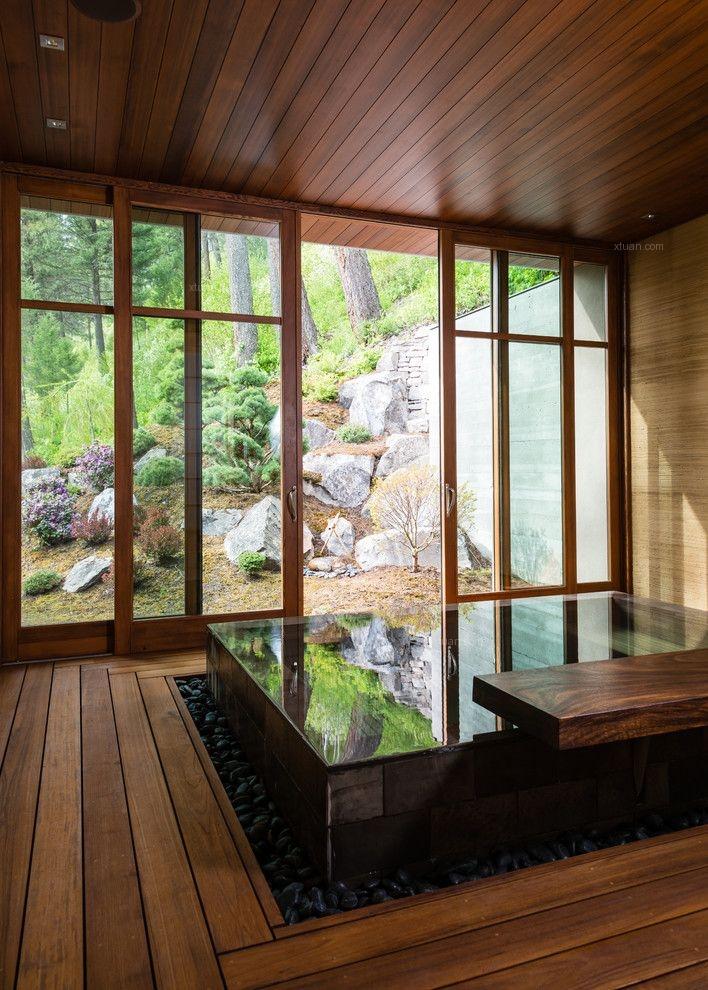 私人度假温泉池