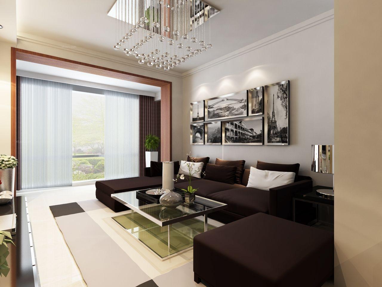 两居室客厅_保利心语装修效果图图片