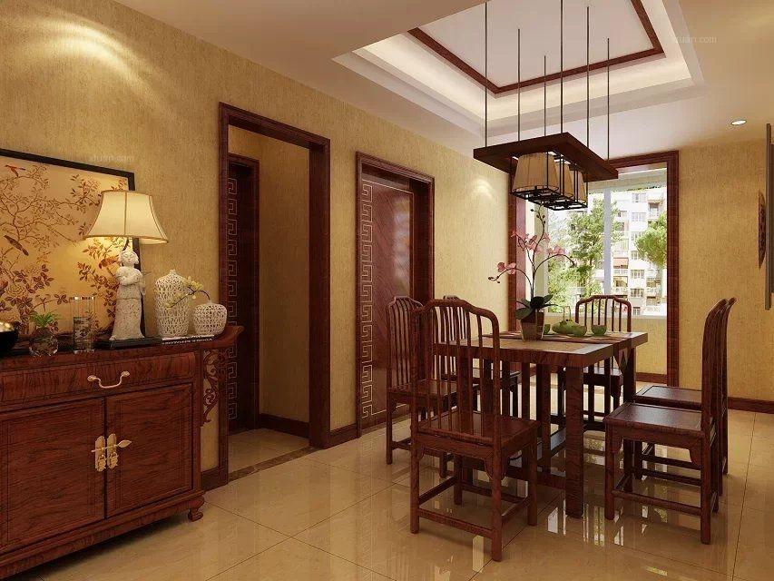 香山美墅 140平  中式风格
