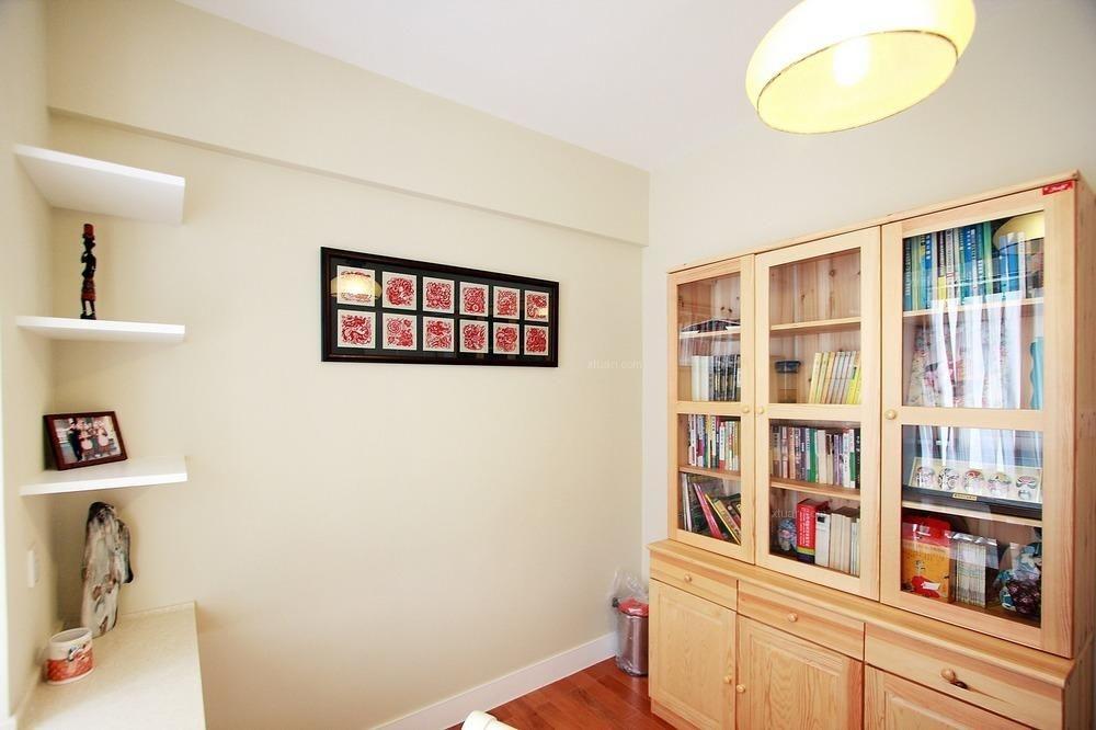 两居室田园风格书房