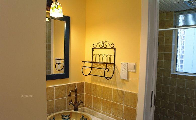 三室两厅地中海风格洗手间